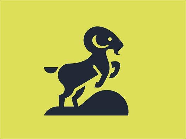 Sjabloon logo steenbok